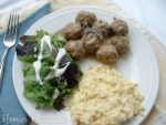Weekly Menu Plan ~ Meatballs in Gravy
