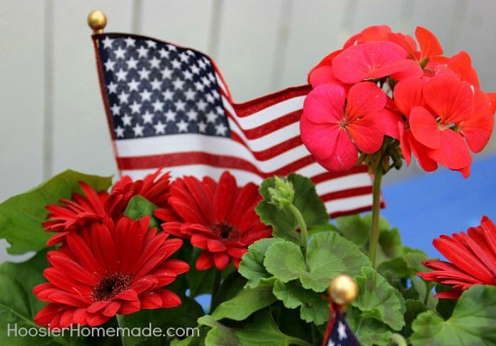 Memorial Day Centerpiece