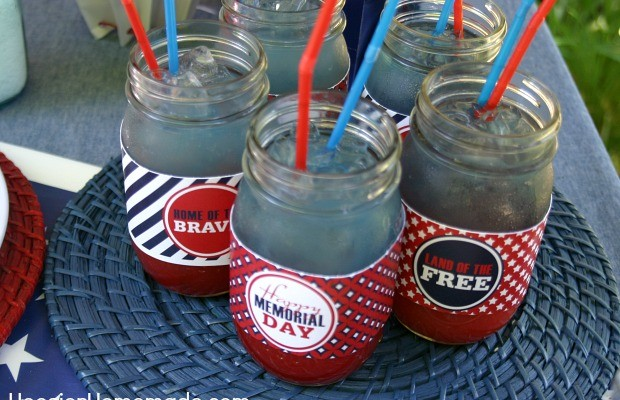 Memorial Day Cook-Out with Printables