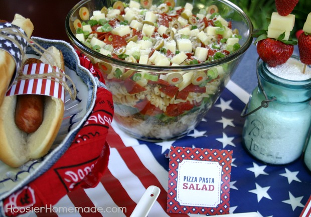 Memorial Day Cook-Out Printables | Available on HoosierHomemade.com