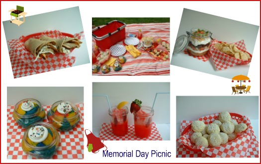 Memorial Day Picnic.collage