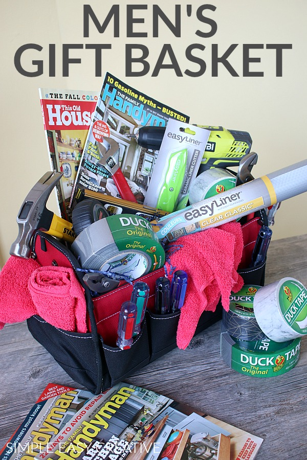Mens Gift Basket & Mens Gift Basket: Handyman Special - Hoosier Homemade
