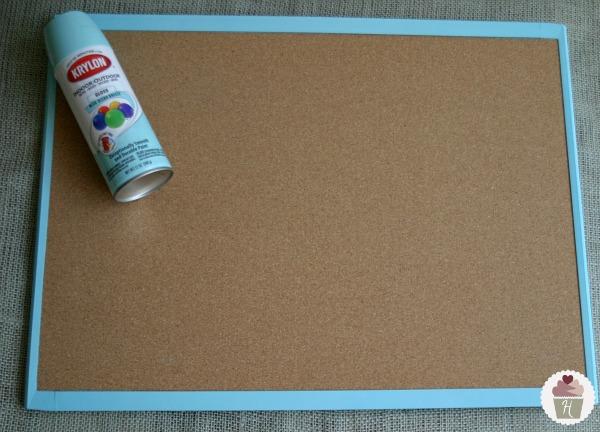 diy padded message board