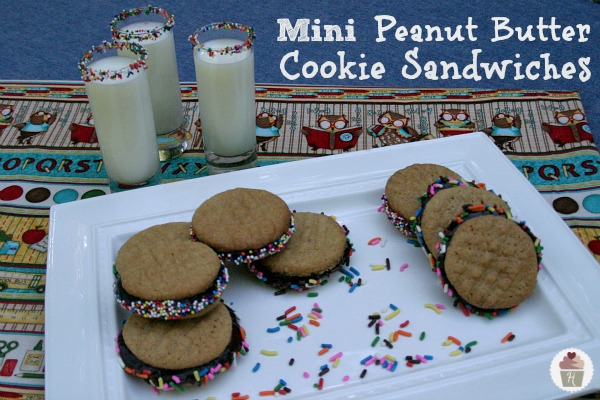 Made with Betty Crocker Peanut Butter Cookie Mix and decorated with ...
