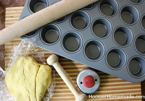 Mini Pumpkin Mousse Pie with Meringue :: Recipe on HoosierHomemade.com