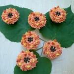 Mini Sunflower Cupcakes - September 2011