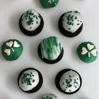 Mint Oreo Truffles: St. Patrick's Day Treats