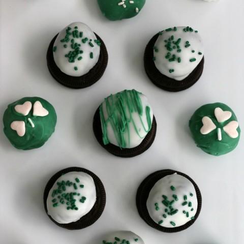 Mint Oreo Truffles: St. Patrick's Day Treats