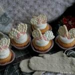 Mitten Cupcakes