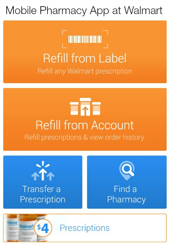 Mobile Pharmacy App at Walmart