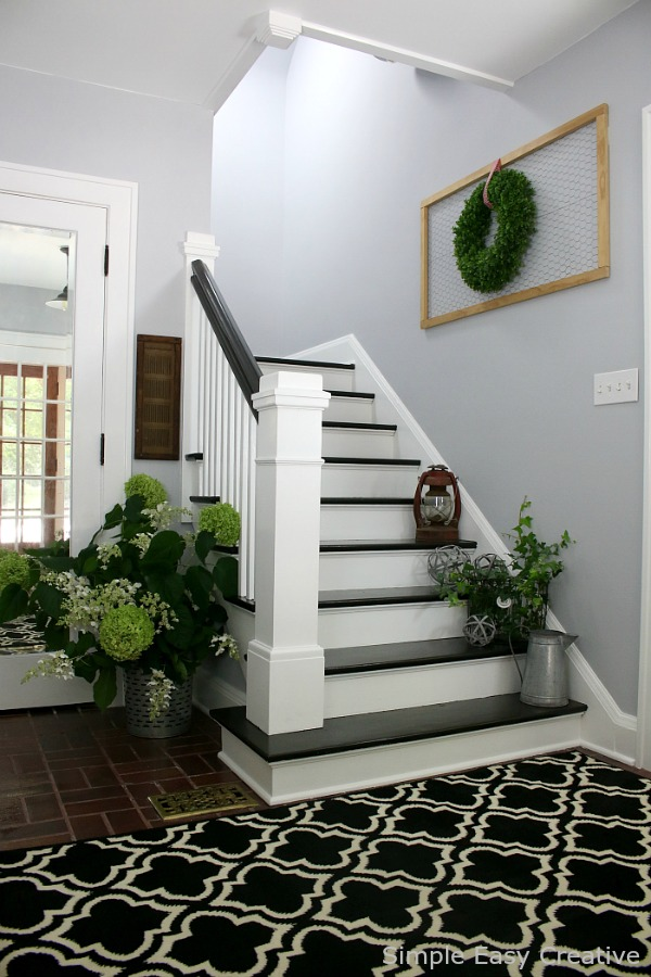 Farmhouse Foyer : Modern farmhouse foyer makeover hoosier homemade
