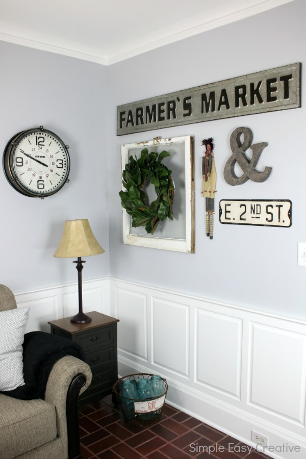 MODERN FARMHOUSE LIVING ROOM MAKEOVER -- turn a boring room into a fabulous room with these farmhouse style decorating ideas