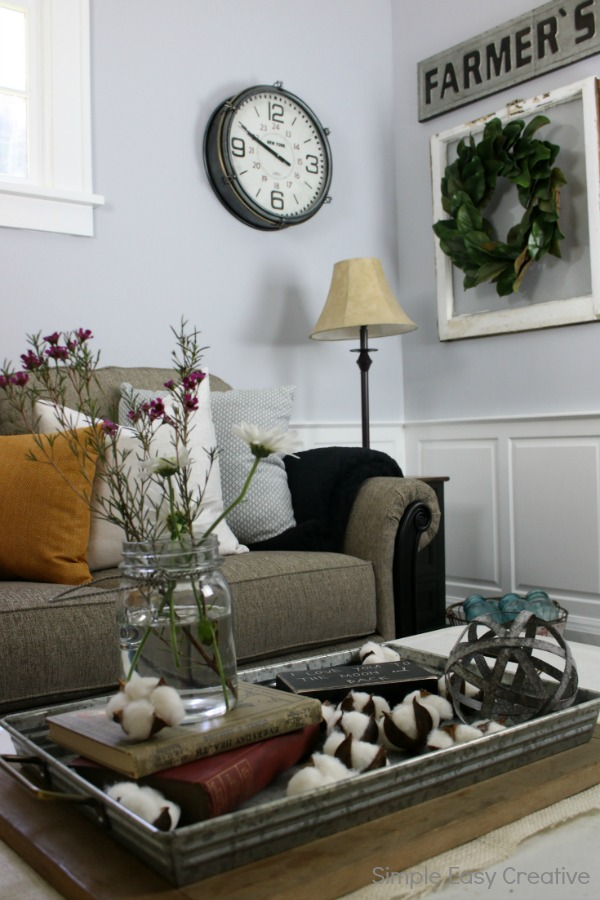 MODERN FARMHOUSE LIVING ROOM MAKEOVER turn