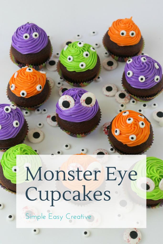 Easy Monster Eye Cupcakes Hoosier Homemade