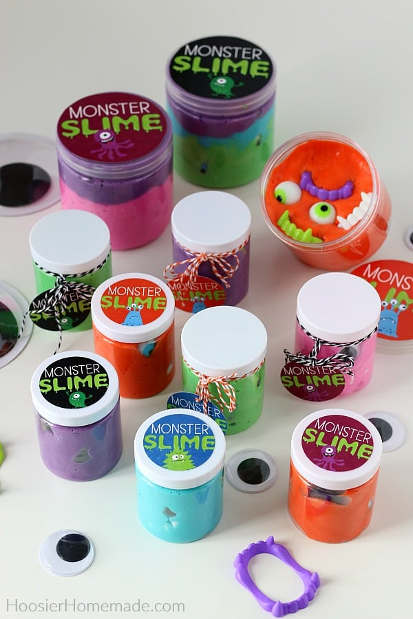 Free Printables for Monster Slime