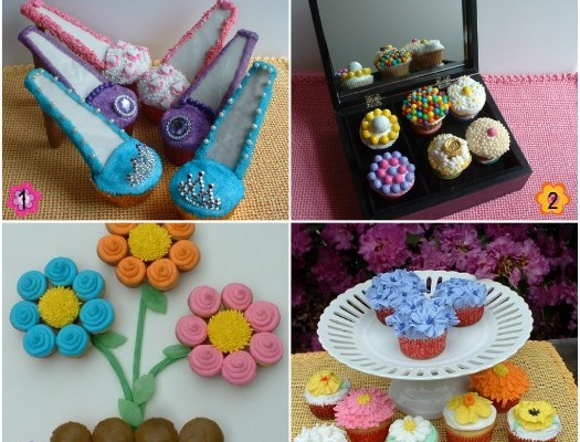 Mother's Day Cupcakes.collage