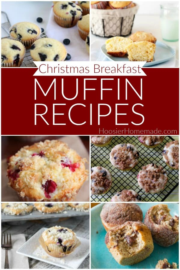 Muffins for Christmas Breakfast