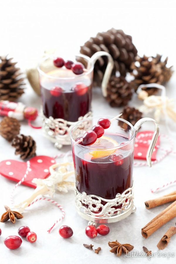 Mulled Red Grape Juice