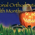 National Orthodontic Health month poster