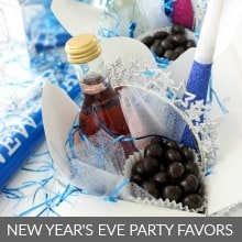 New Year's Eve Party Favors