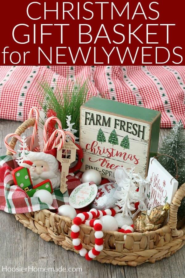 Gift Basket for Newlyweds