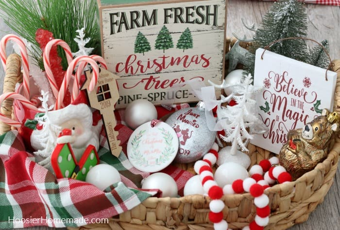 Newlywed Christmas Gift Basket