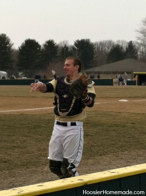Nick - PNC Baseball Catcher