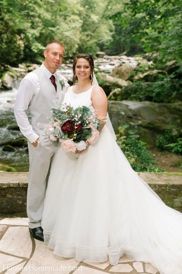 Wedding at Spence Cabin in Tennessee