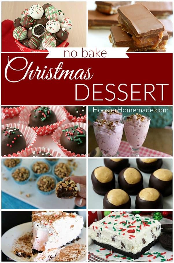 No Bake Christmas Dessert