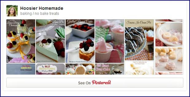 No Bake Pinterest Board
