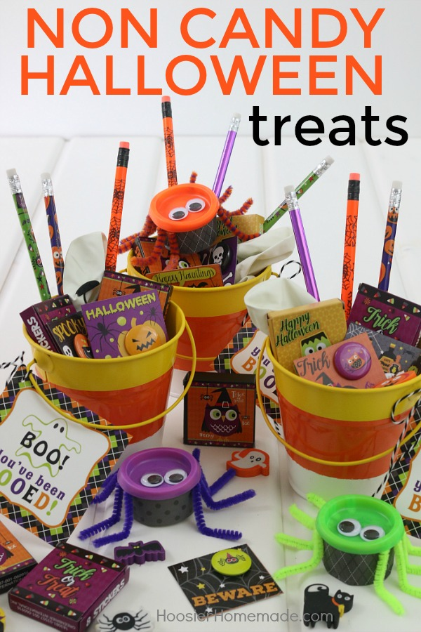 NON CANDY HALLOWEEN TREATS -- Perfect for classroom treats, friends, neighbors and more!