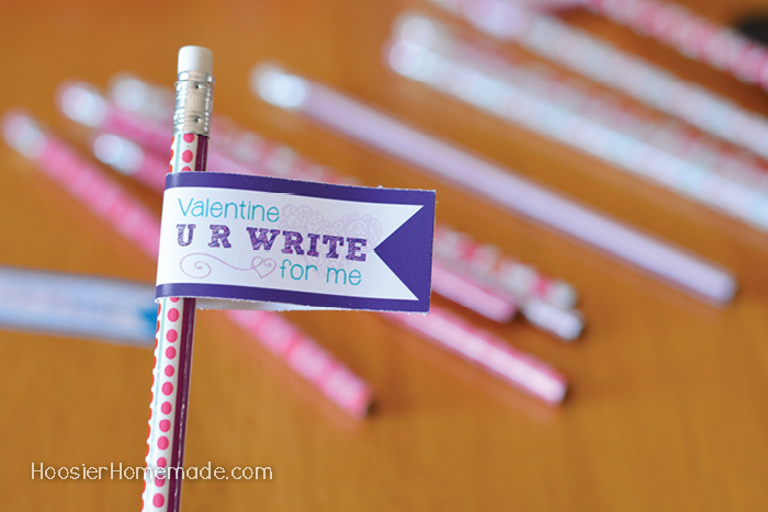 Printable Pencil Toppers for Classroom Party