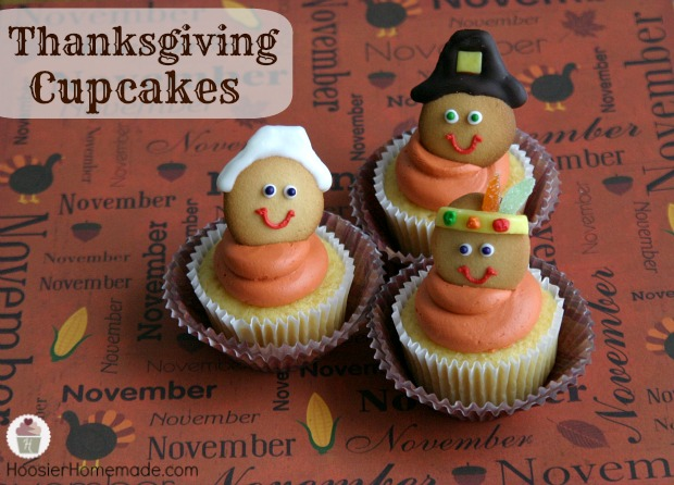 Were Created By Liz At Hoosier Homemade Its Such A Sweet Thanksgiving Dessert Idea