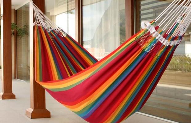 Novica Brazilian Rainbow Hammock