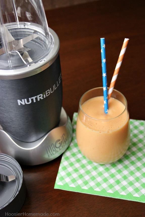 Smoothie using NutriBullet
