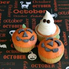 Halloween Cupcakes on HoosierHomemade.com