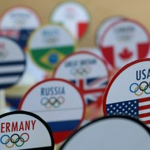 Olympic Cupcakes: Printable World Flag Cupcake Toppers