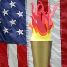How to make an Olympic Torch