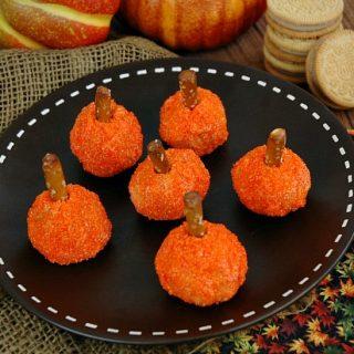 Gingerbread Pumpkin Bites