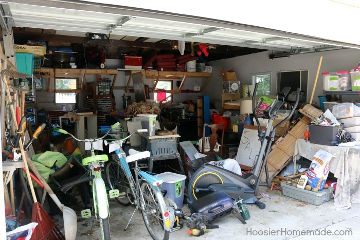 Organize Your Garage.before