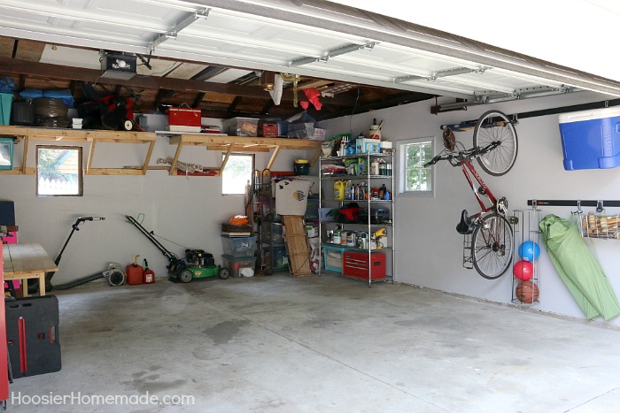 organized and diy space to organization clean how garage functional organize scentsible the pretty makeover