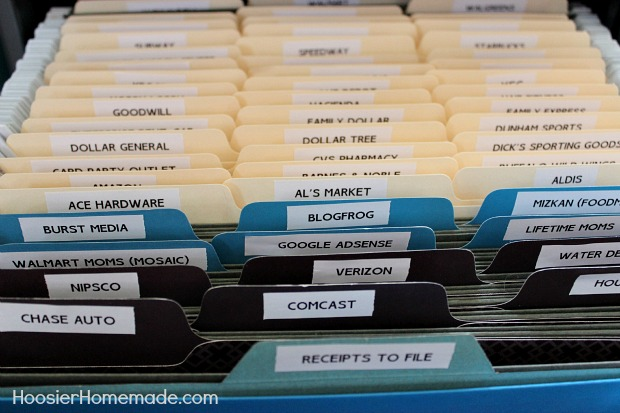 Organizing Children And Household Papers Hoosier Homemade