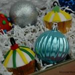 Ornament Cupcakes - December 2012