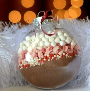 Hot Cocoa Mix Ornaments :: HoosierHomemade.com