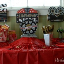 Oscar Party Buffet
