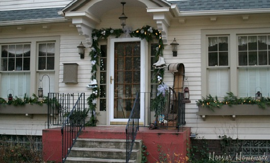 Outdoor Christmas Decorations Hoosier Homemade
