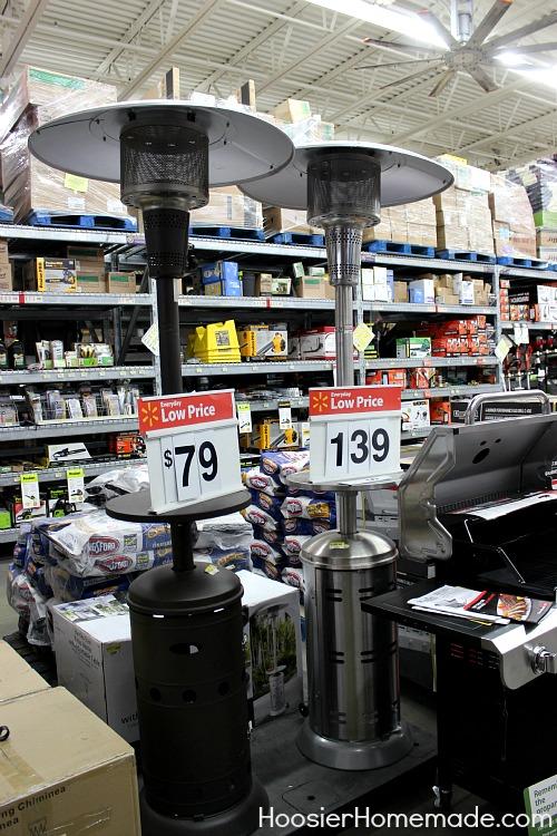 Outdoor Living at Walmart :: HoosierHomemade.com
