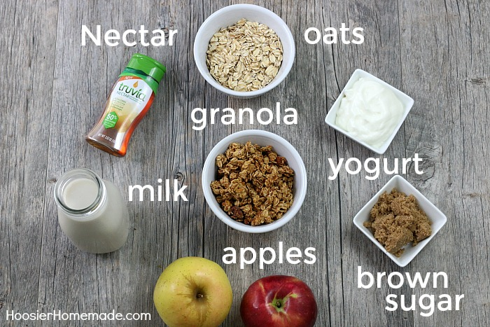 OVERNIGHT OATS -- Make breakfast quick and healthy with these overnight oats recipes - 4 ways!
