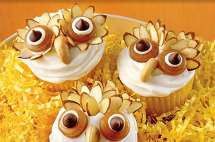 Owl Cupcakes & Fall Cupcakes and Toppers - Hoosier Homemade