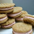 Peanut Butter & Jelly Sandwich Cookies :: Recipe on HoosierHomemade.com